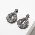 Lori Weitzner Beaded Clio Earrings in Stone