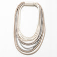 Lori Weitzner large corded Hapi Necklace in Dove