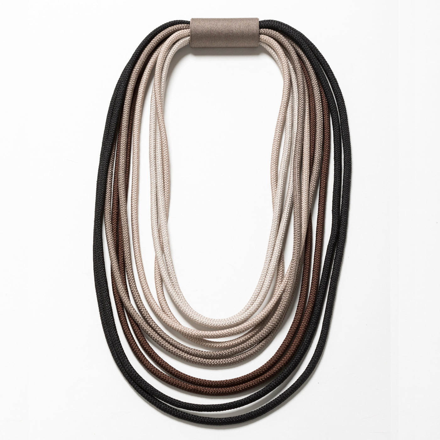 Lori Weitzner large corded Hapi Necklace in Mica