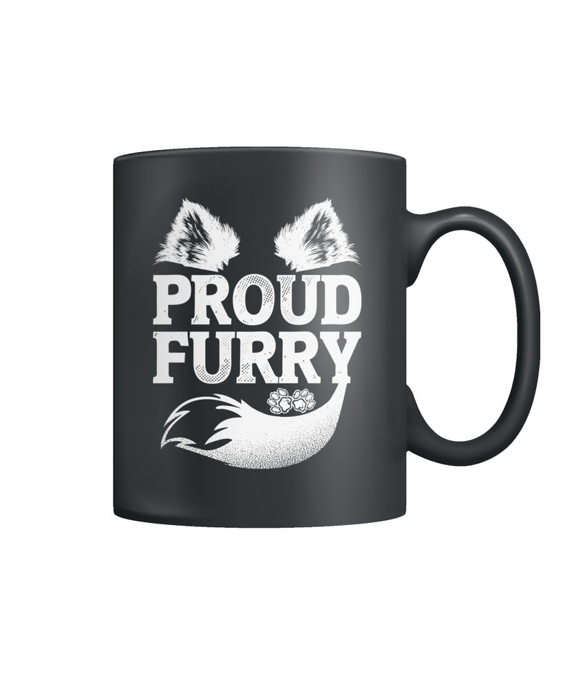 Proud Furry Color Coffee Mug