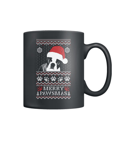 Merry Pawsmas Color Coffee Mug