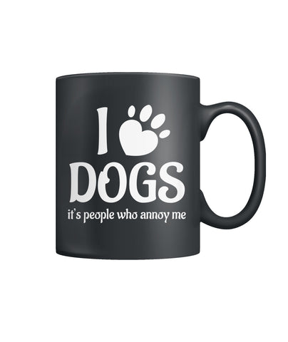People Annoy Me Color Coffee Mug