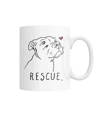 Rescue White Coffee Mug