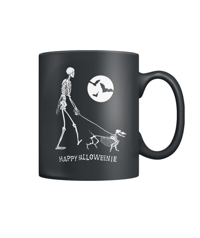 Happy Halloweenie Color Coffee Mug