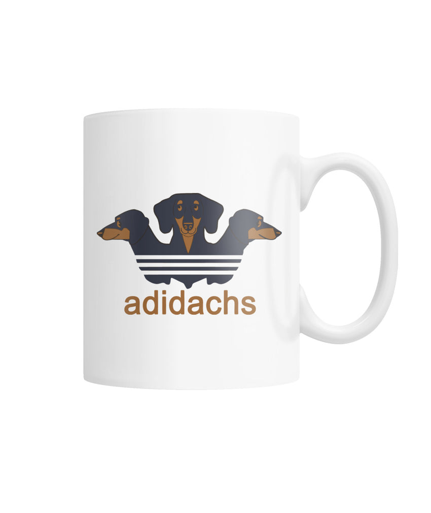 Adidachs White Coffee Mug