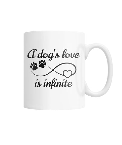 Infinite Love White Coffee Mug