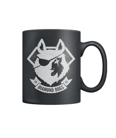 Diamond Dogs Color Coffee Mug