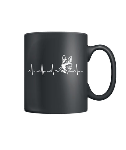 Heartbeat Shepards Color Coffee Mug