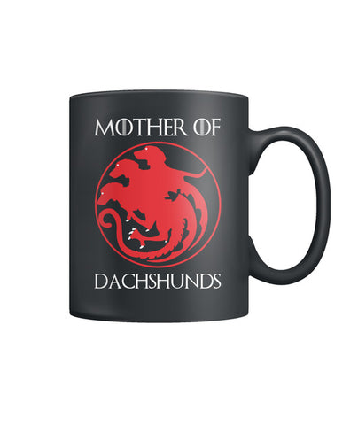 Mother Dachsunds Color Coffee Mug