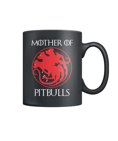 Mother Pitbulls Color Coffee Mug