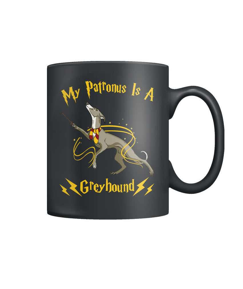 Patronus Greyhound Color Coffee Mug