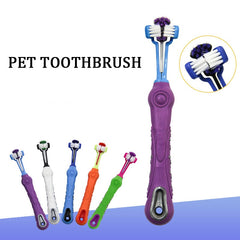 Selling Three Sided Pet Toothbrush