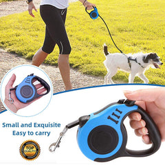 Durable Automatic Retractable Leash- K-9 Universe Automatic Retractable Leash