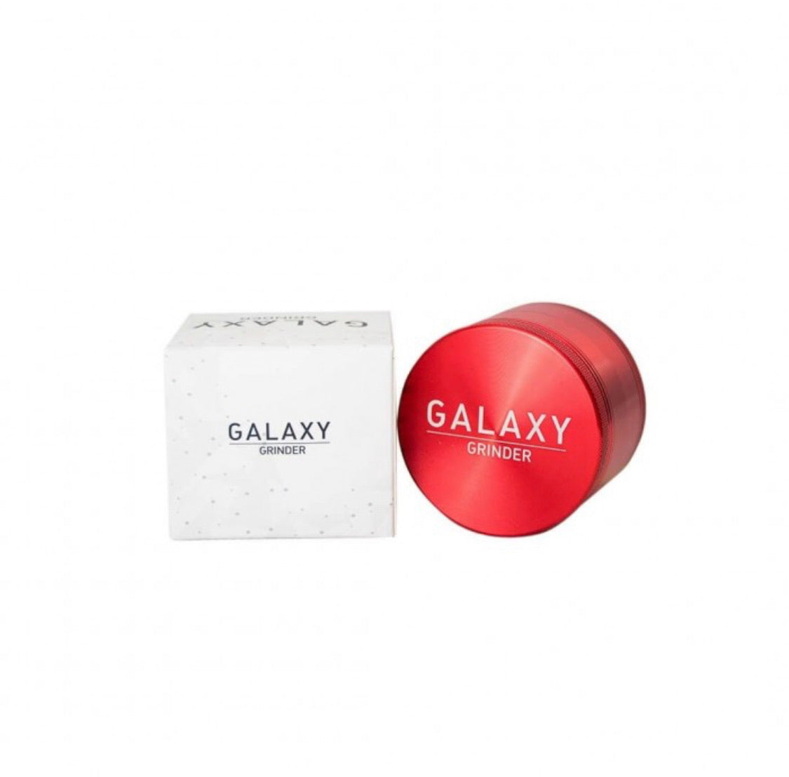 Moledor Galaxy Grinder Rojo 55 mm