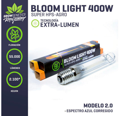 Ampolleta Sodio (Bloom) 400 W