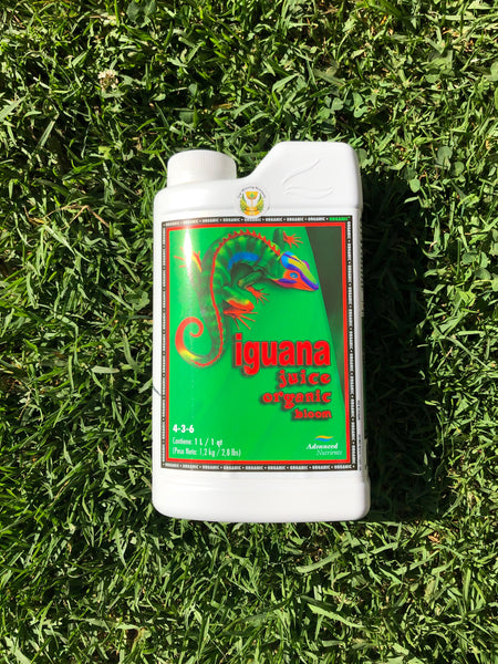 Iguana Juice Organic Bloom 1 Lt