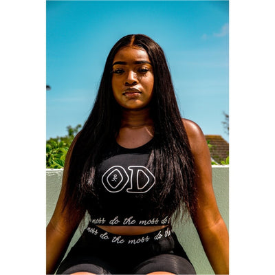 Black Crop Top - odmoss