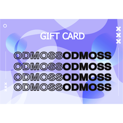 Gift Card Ocean Iris Purple - odmoss
