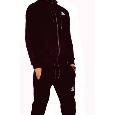Midnight Black Tracksuit Bottoms - odmoss