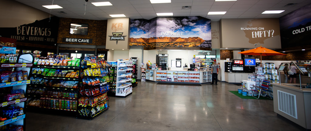 KB Express St. George Utah: Dessert Hills High School Gas Station