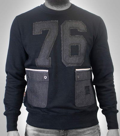 76 Pocket SweatShirt Black