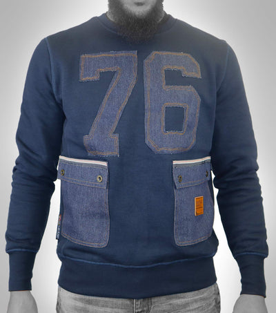 76 Pocket SweatShirt Navy
