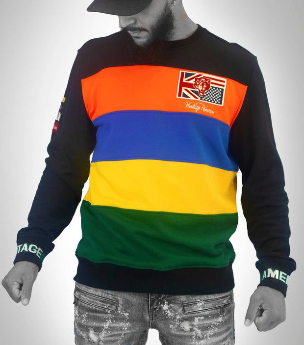 HRTG Multi Stripe Sweater