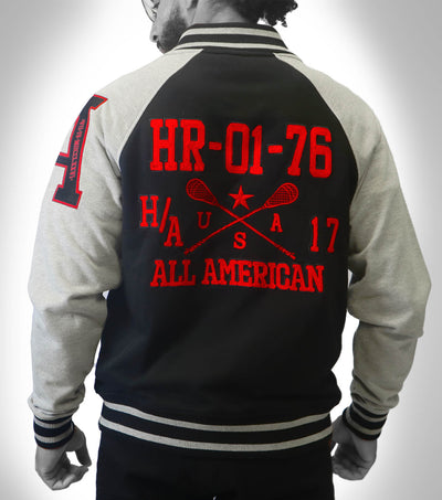 HRTG Baseball Jacket Black