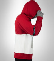Flag Hoodie with Zip Pocket