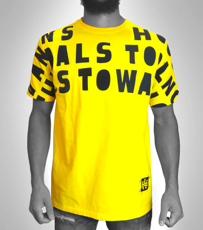 Vandals Type Tee Yellow