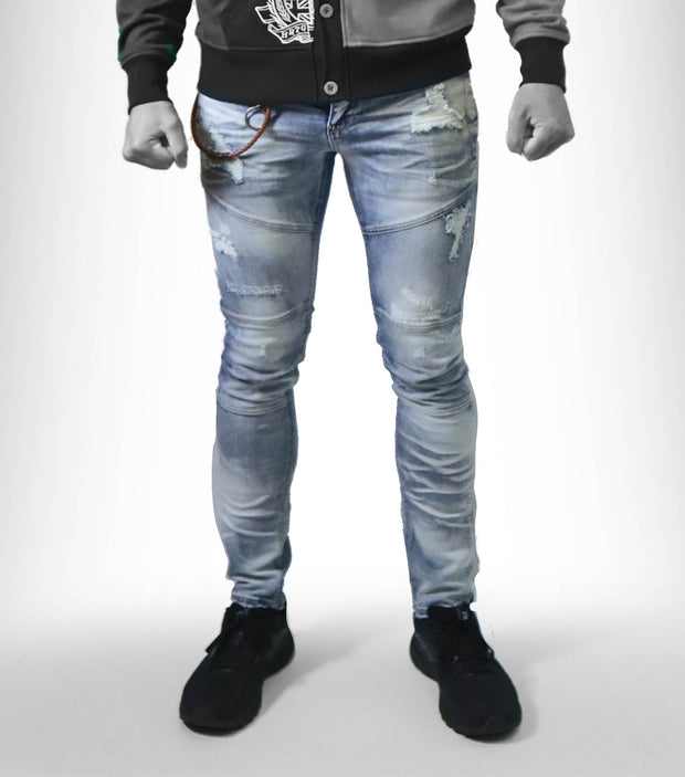 Heritage Denim distressed wash