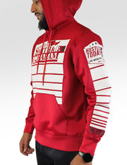 Smith & Graham EST 75 Hoodie (Red)