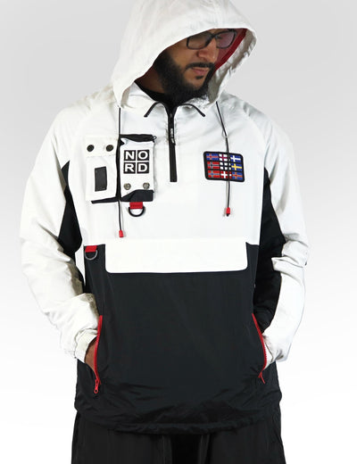 Nordic Down White /Black Anorak