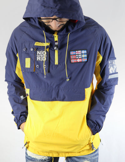 Nordic Down Yellow/Navy Anorak