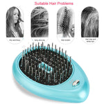 IonEx - Portable Electric Ionic Hairbrush