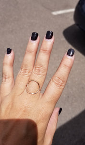 Dainty Space Between Ring