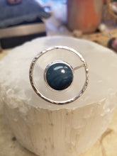 Load image into Gallery viewer, Leland Blue Floating Circle Ring