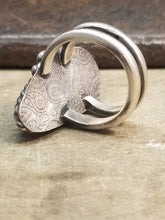 Load image into Gallery viewer, Stunning Rosarita and Sterling Silver Ring