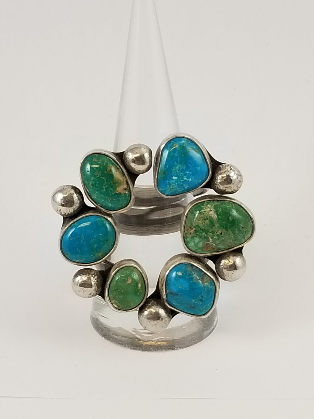 Kingman Turquoise Open Cluster Ring