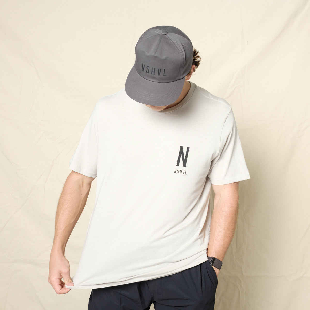 Staple Tee - Light Grey