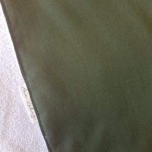 Olive burp cloth