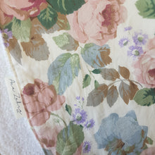 Load image into Gallery viewer, Garden Rose Burp Cloth