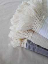 Load image into Gallery viewer, True Beige Fringed Swaddle