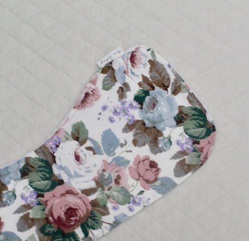 Garden Rose Burp Cloth