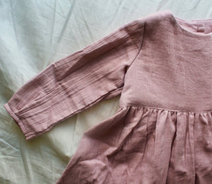Autumn Delights Dress Dusty Pink