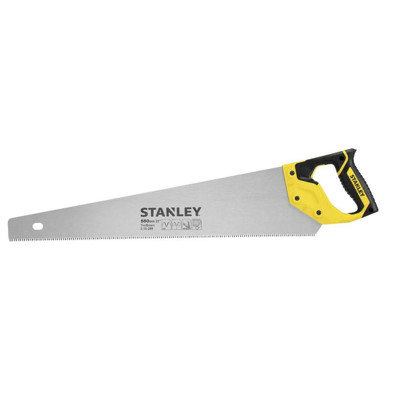 "Stanley Saw Carpenter ""Jet Cut"" 550Mm H/D 8Pt- 6"