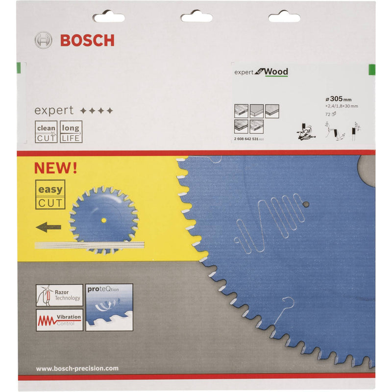 Bosch Professional Expert for Wood circular saw blade 305mm 72t