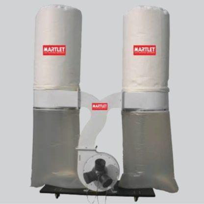 Martlet MM300DET Dust Collector Dual Bag