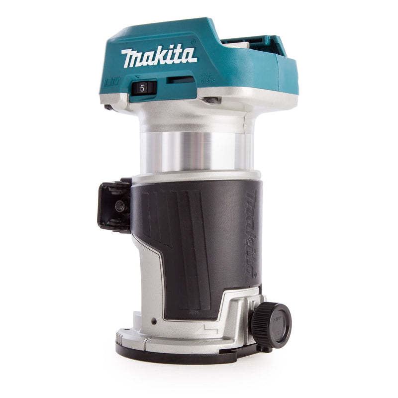 Makita 18V Drt50 Cordless Router Laminate Trimmer - Power Tool Services
