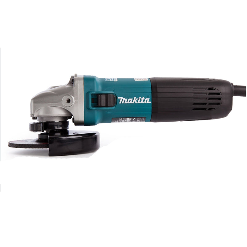 Makita Angle Grinder Ga5040 Sjs Ii 125Mm - Power Tool Services